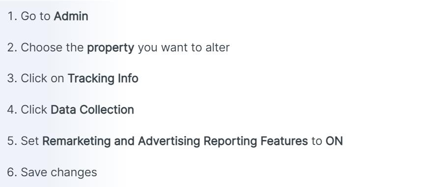 بازاریابی مجدد در گوگل آنالیتیکس