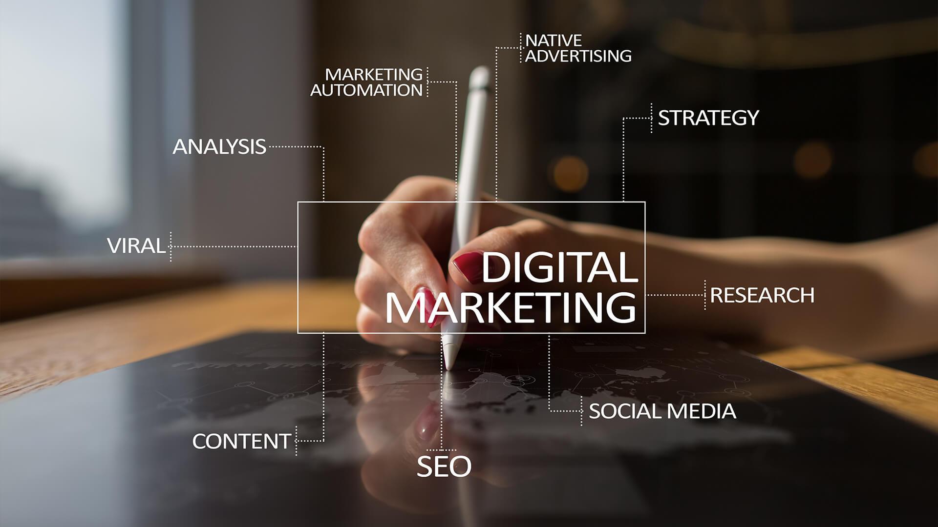 دیجیتال مارکتینگ بازاریابی آنلاین