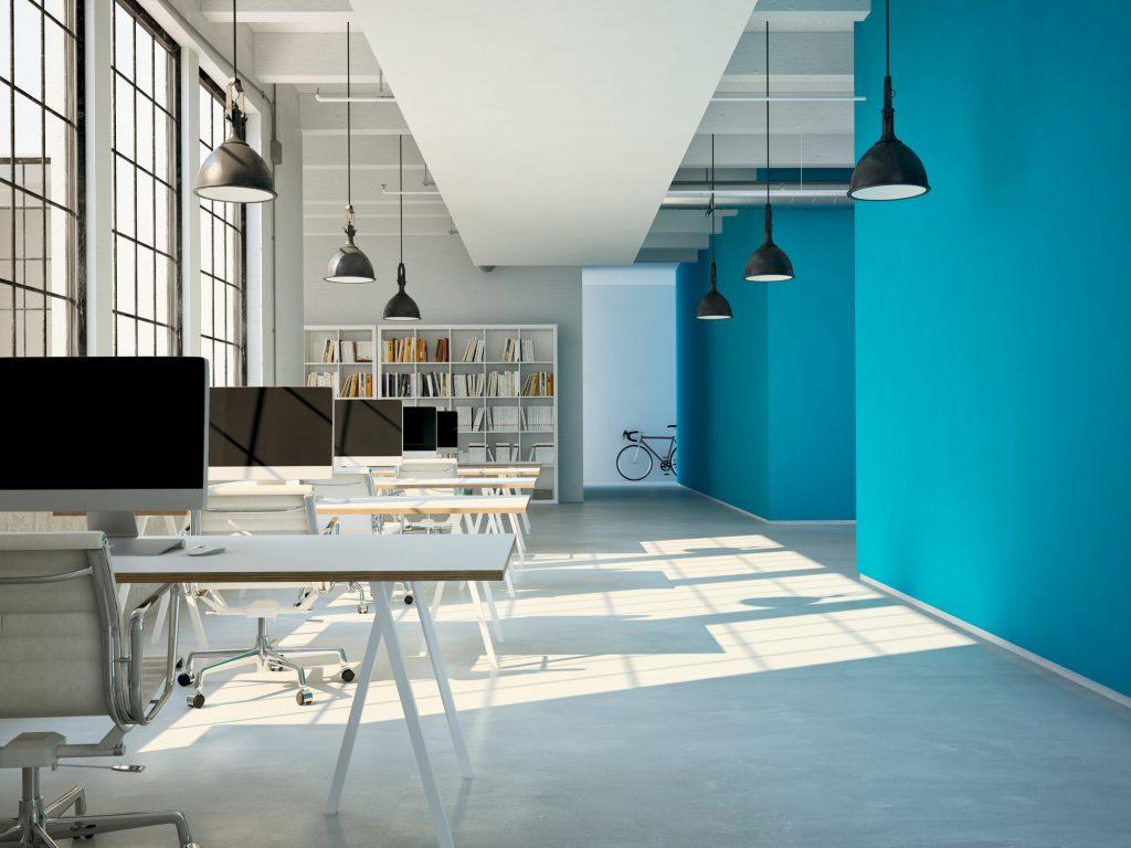 رنگ های عالی برای افزایش بهرهوری در محیط کار